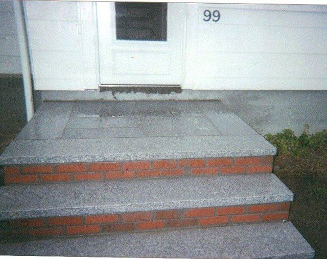 Block stair