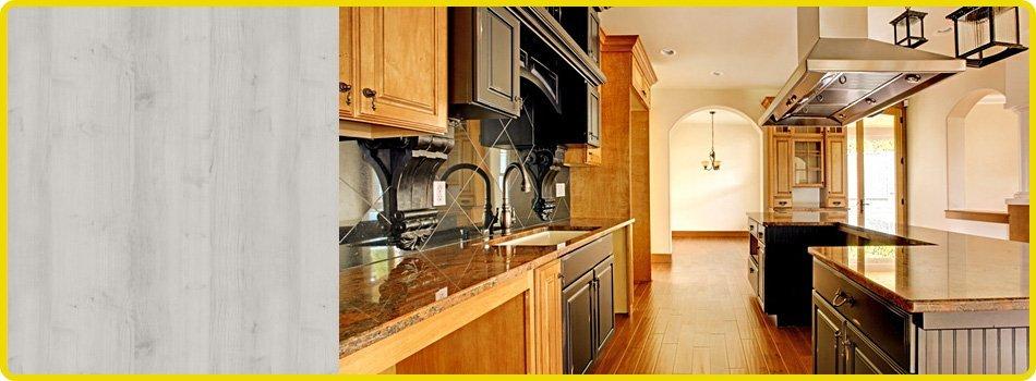 Newly developed kitchen