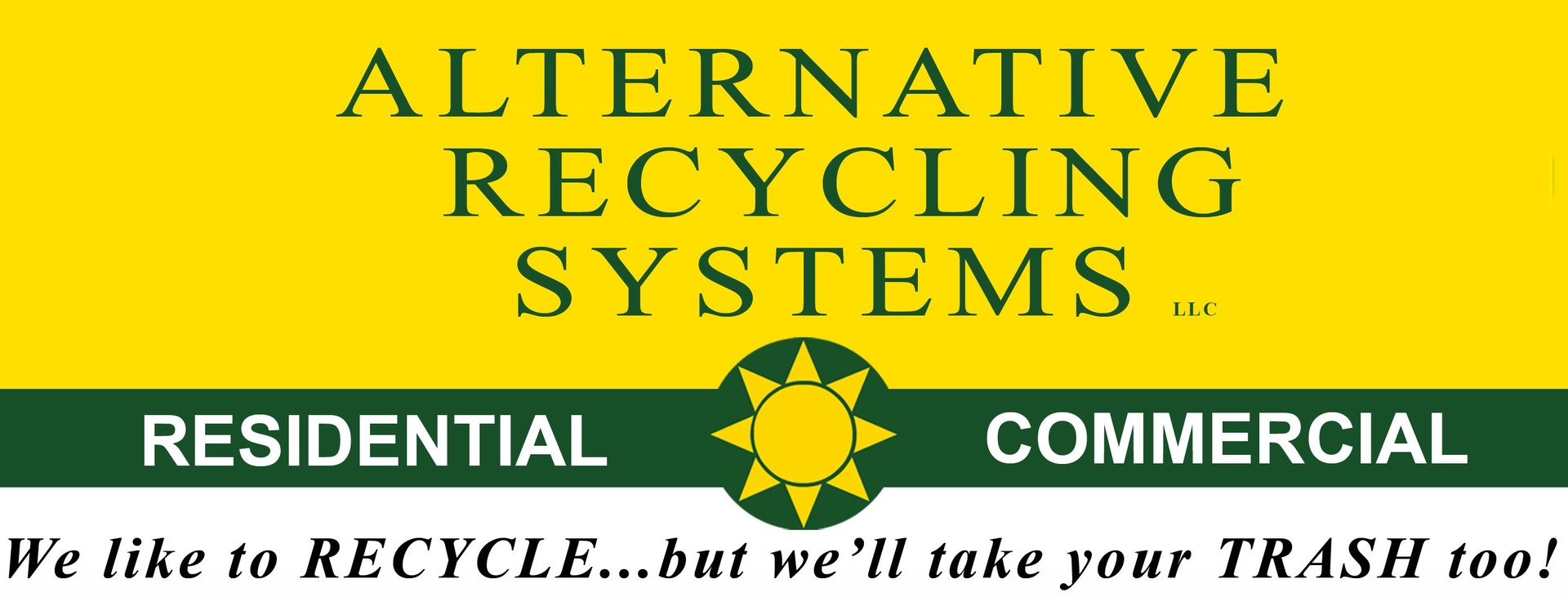 Alternative Recycling Systems logo