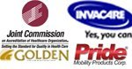 Joint Commission Of Accreditation Of Healthcare Organizations, Invacare, Pride Mobility Products, Golden Technologies