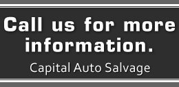 Auto Parts - Lagrange, GA - Capital Auto Salvage