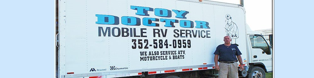 Mobile RV Service Dade City & Zephyrhills, FL  - Toy Doctor