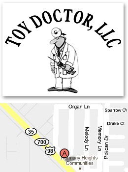 Toy Doctor  11131 US Hwy. 301, Dade City, FL 33525