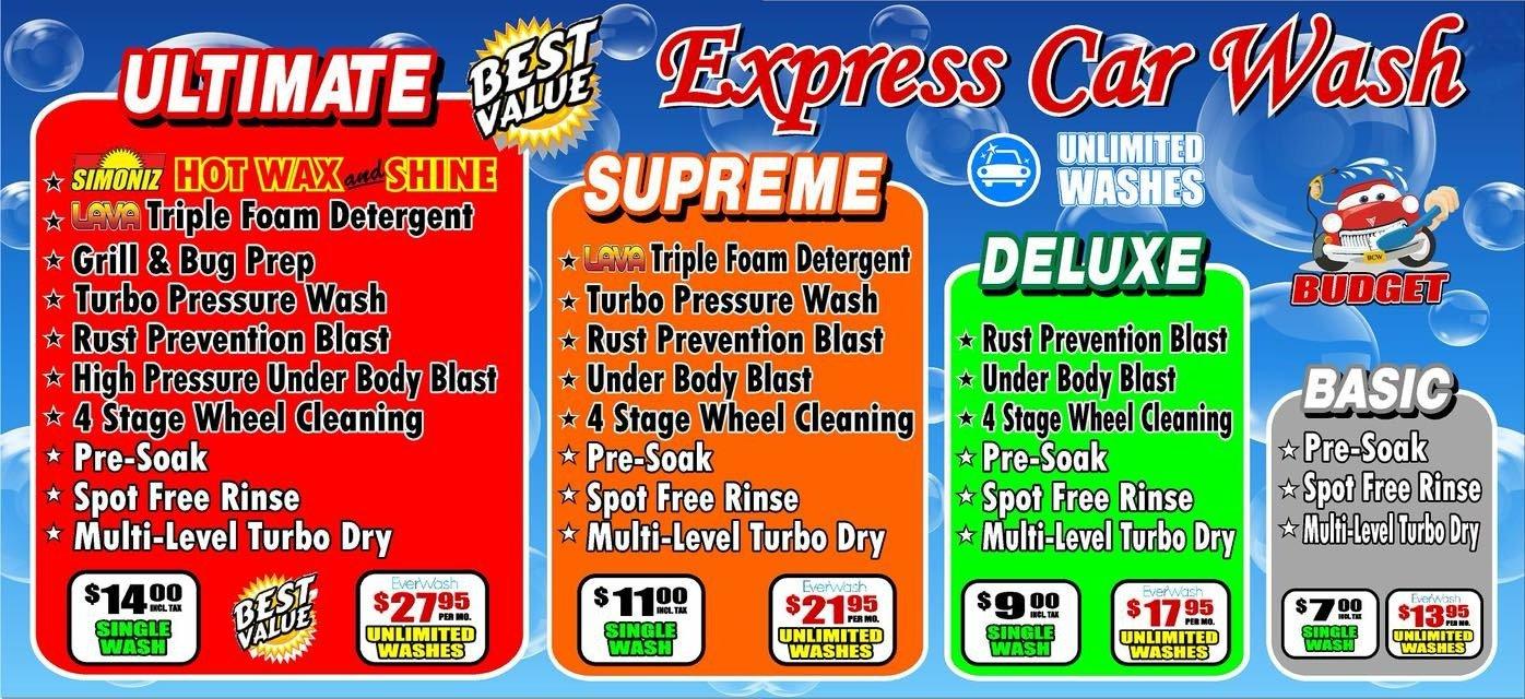 Budget Car Wash Car Wash Services West Haven Ct