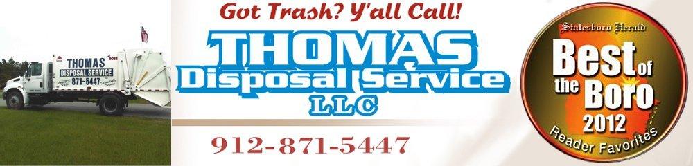 Sanitation - Statesboro, GA - Thomas Disposal Service