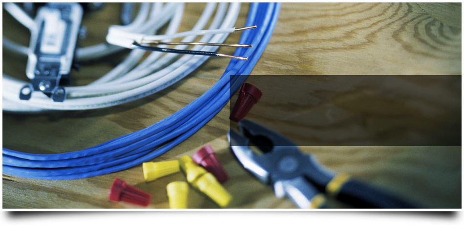 Wires, wire cups and a plier