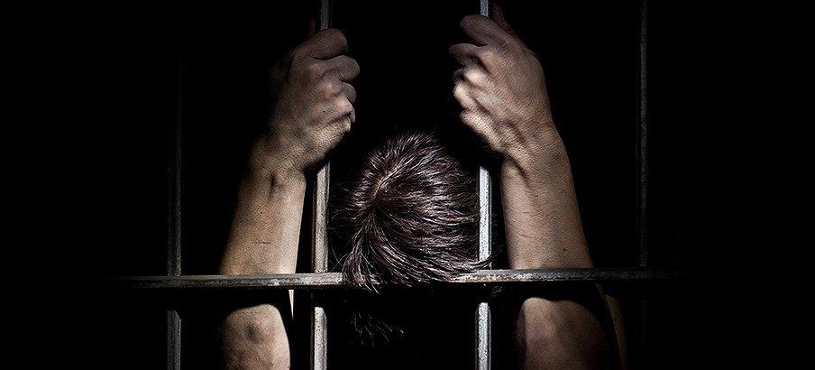 Man inside jail