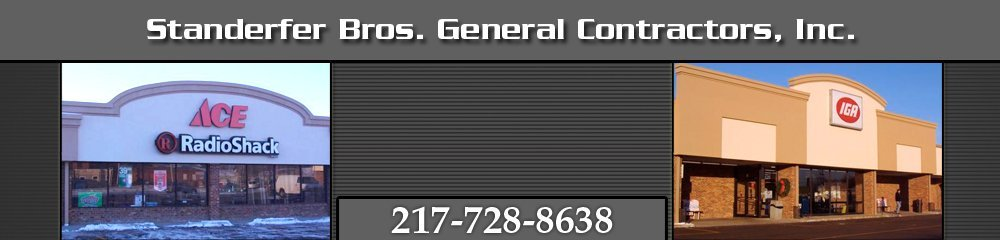 General Contractors - Sullivan, IL - Standerfer Bros. General Contractors, Inc.