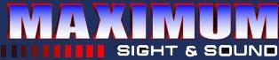 Maximum Sight & Sound Logo