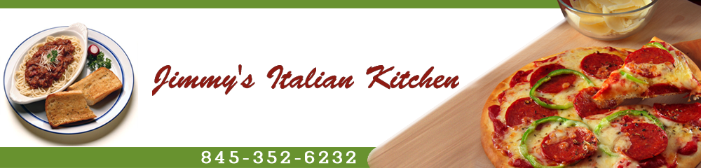 Pizza Monsey, NY - Jimmy's Italian Kitchen 845-352-6232