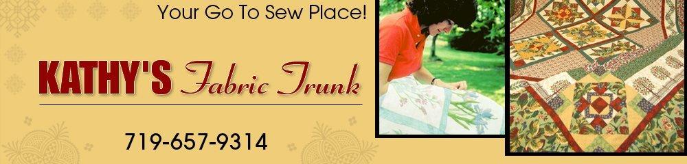 Fabric Shop - Del Norte, CO - Kathy's Fabric Trunk