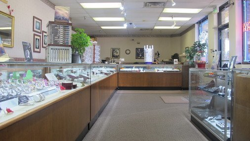 Merrillville Jewelers Interior