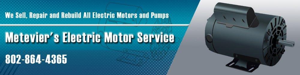 Metevier's Electric Motor Service - Pumps