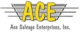 Ace Salvage Enterprises Inc - Logo. Located in and Serving Laramie, WY