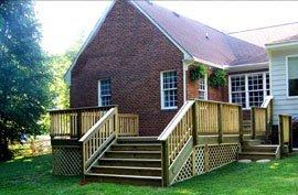 Pressure Treated Decks | Richmond, VA | Add A Deck Inc. | 804-285-4239