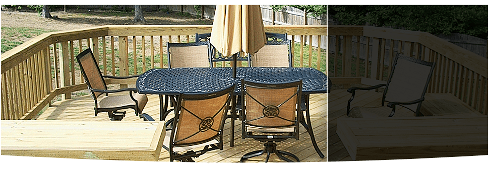Pressure Treated Decks | Richmond, VA | Add A Deck Inc. | 804-285-4239