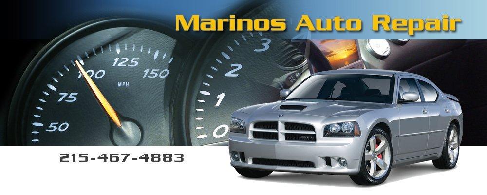 Auto Service Center - Marinos Auto Repair - Philadelphia, PA - engine check up