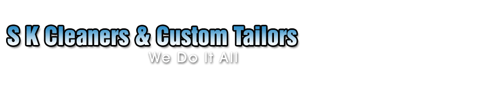 Dry Cleaning Tailor - S K Cleaners & Custom Tailors - Rockville, MD