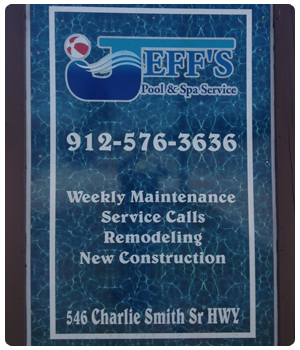 swimming pool accessories | Brunswick, GA | Jeffs Pool And Spa Service | 912-342-4640