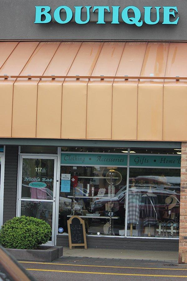 Boutique front