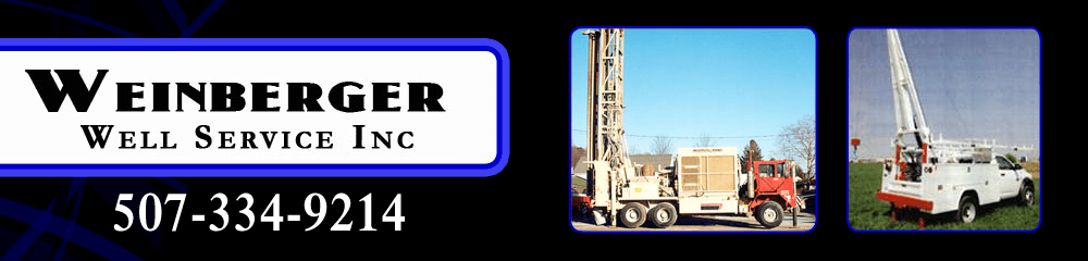 Well Drilling, Cleaning, And Service - Faribault, MN - Weinberger Well Service Inc