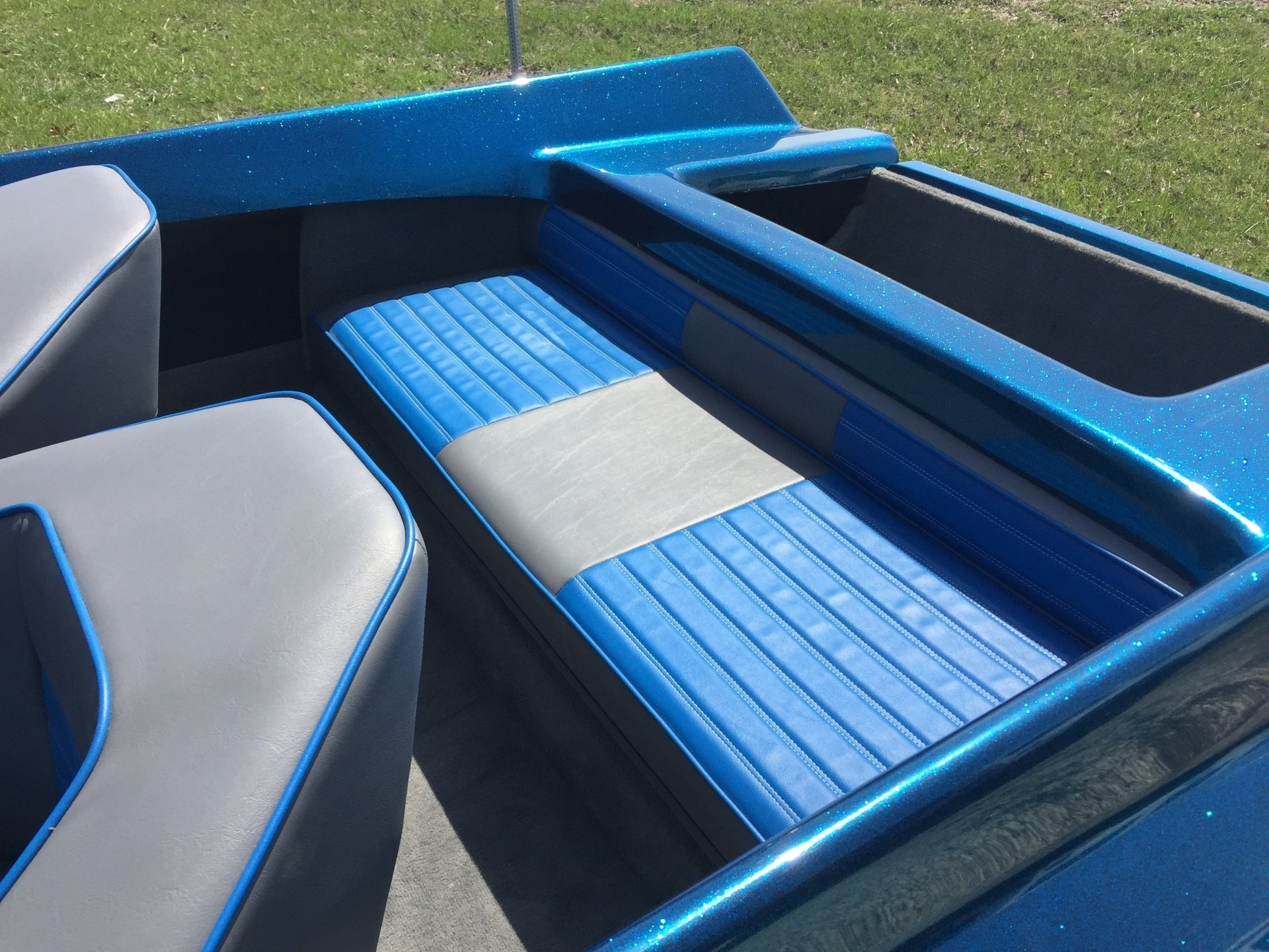 Alpha Omega | Boat Upholstery Installs | Taylorville, IL