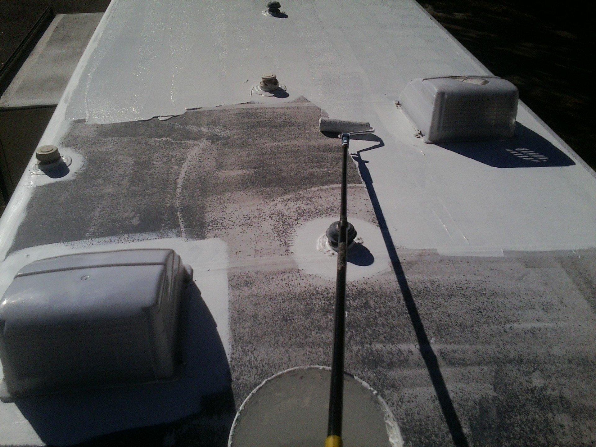 Rv Roof Coating Mpres Mobile Detailing Tampa Amp Brandon Fl