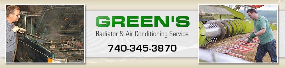 Auto Repairing - Newark, OH - Green's Radiator & Air Conditioning Service