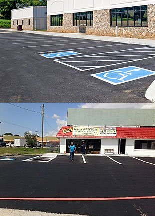 Parking Lot Striping - Lakeland, FL - Mrs. Asphalt LLC