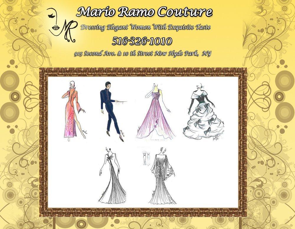 Fashion Designer and Dress Maker - New Hyde Park, NY - Mario Ramo Couture