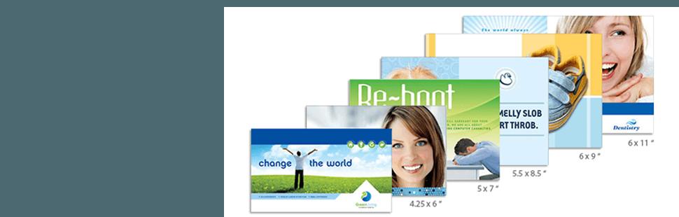 Different postcards