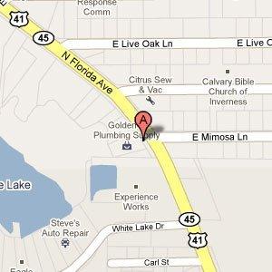Golden X Plumbing Supply Inc - 8 N Florida Av Inverness,  FL  34453