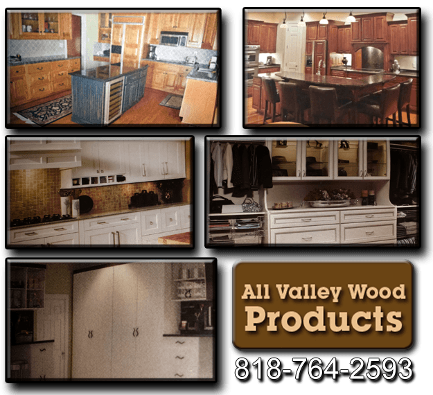 Custom Cabinets - North Hollywood, CA - All Valley Wood Products