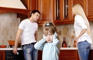 Parents quarelling
