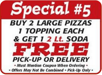 Special coupon