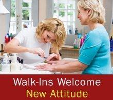 Nail Salon - Kingston, PA - New Attitude