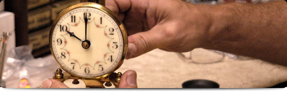 Master Clockmaker | St. Charles, IL | Clock & Watch Repair | 630-584-4495