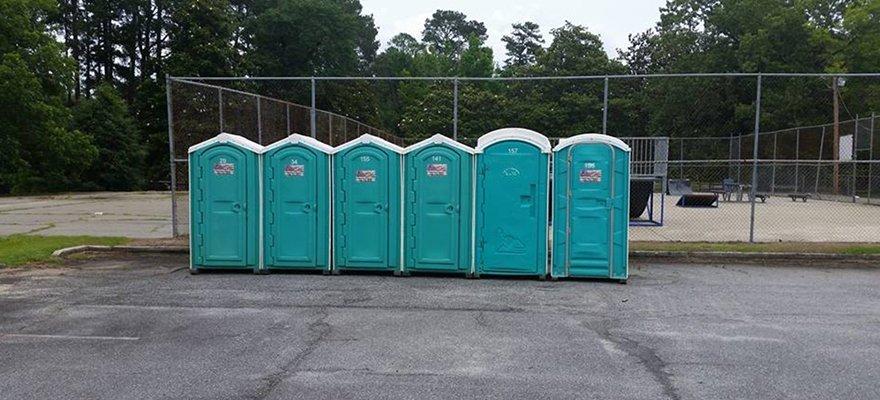 Porta potties