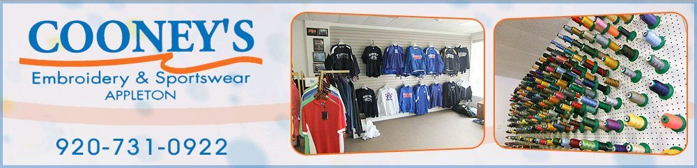 Promotional Items Appleton, WI - Cooney's Embroidery & Sportswear