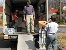 moving trucks rental - Salisbury, MD - Jones & Dryden Truck Rental - truck