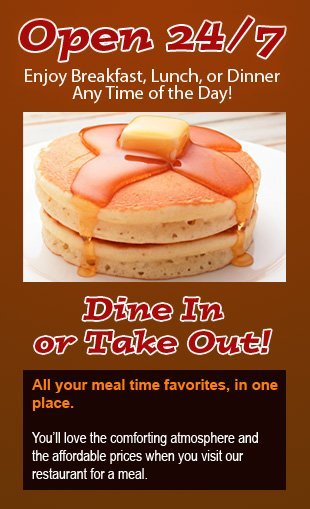 Pancakes | Watervliet, NY | Bob's Diner | 518-274-2393