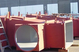Ductwork section