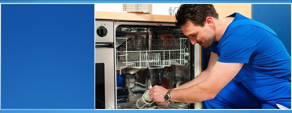 Technician dishwasher repair