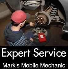 Auto Service - Hesperia, CA - Mark's Mobile Mechanic - Brake