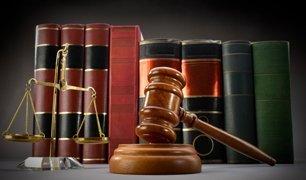 Law Books , gavel and balance