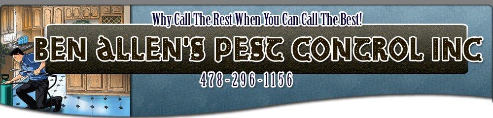 Quality Pest Service Dublin, GA - Ben Allen's Pest Control Inc