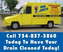 Drain Cleaning - Detroit, MI - Big Jim's Sewer & Drain Cleaning - Call 734-237-3260 Today To Have Your Drain Cleaned Today!