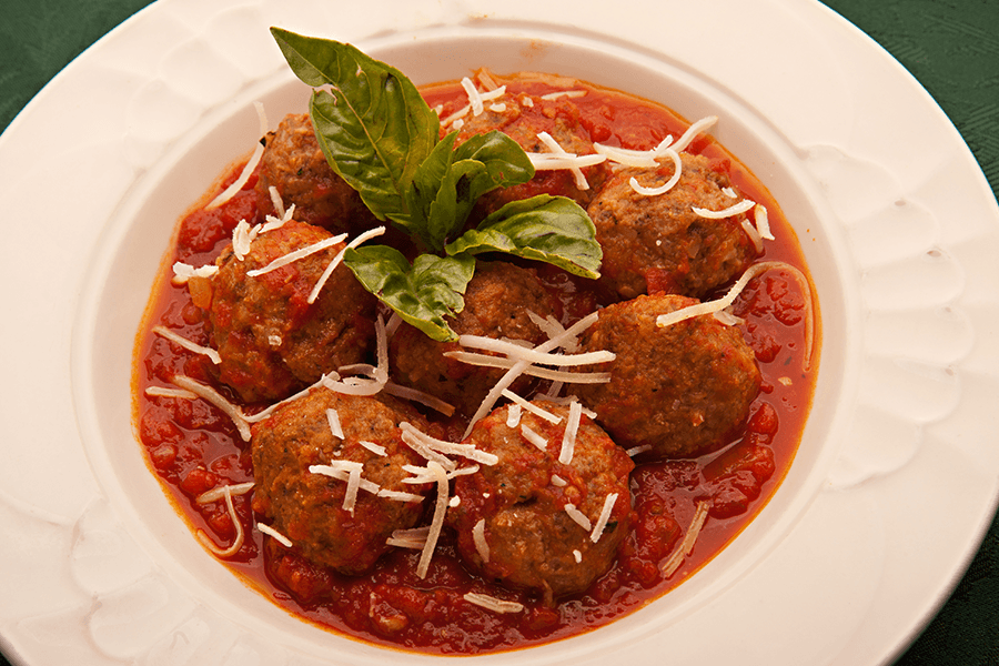 Paolo's meatballs