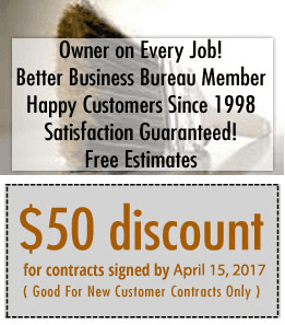 Decks - Omaha and Elkhorn, NE - Absolute Quality Deck Staining - Owner on Every Job! Better Business Bureau Member Happy Customers Since 1998 Satisfaction Guaranteed! Free Estimates; Coupon - $50 discount for contract signed by April 1, 2011 ( Good For Ne