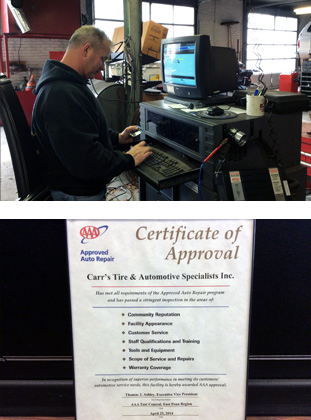 AAA Approved Auto Repair - Quakertown PA - Carr Tire and Auto copy